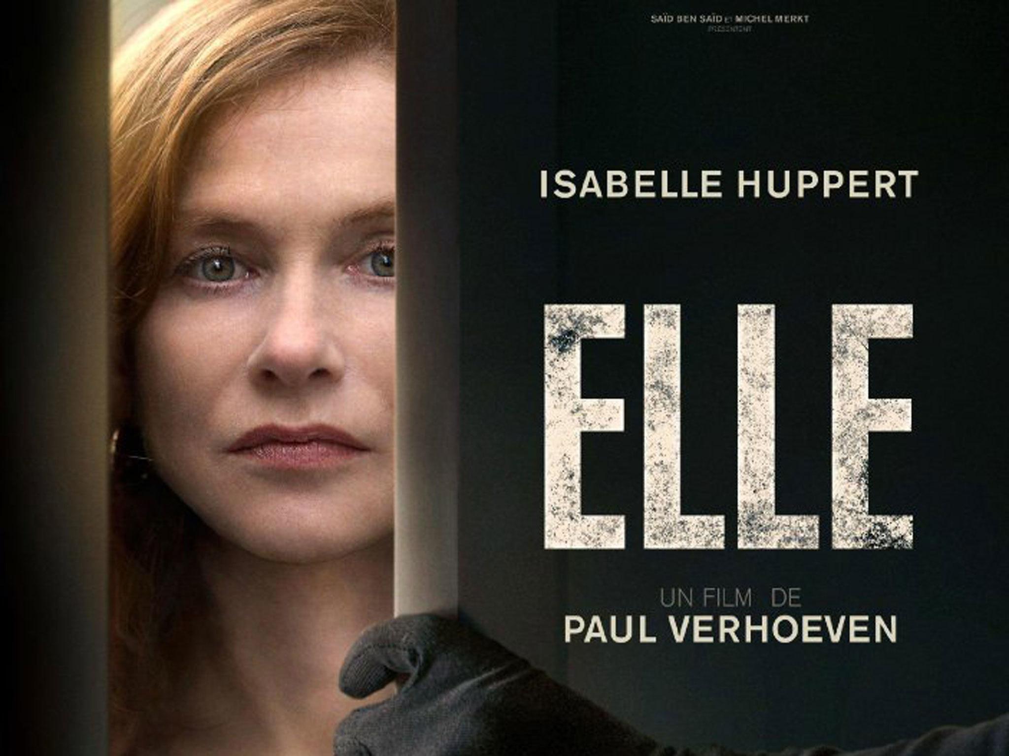 2016 cannes film festival, Elle