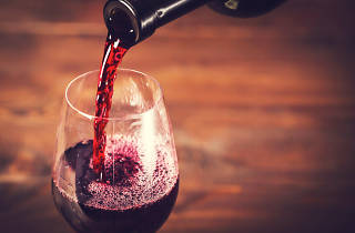 Una copa de vi