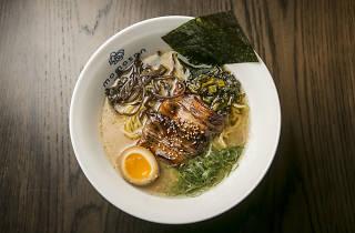 Tonkatsu at Momosan Ramen & Sake