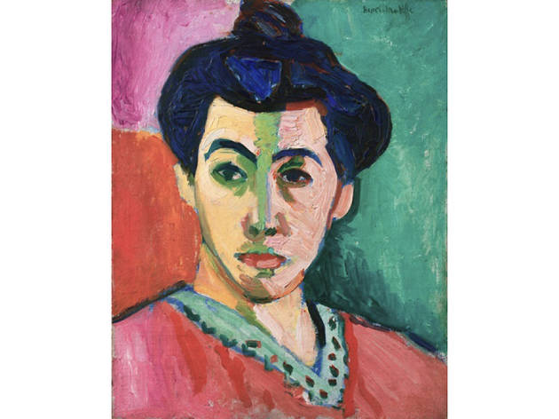 Henri Matisse, Portrait of Madame Matisse (The green line), 1905