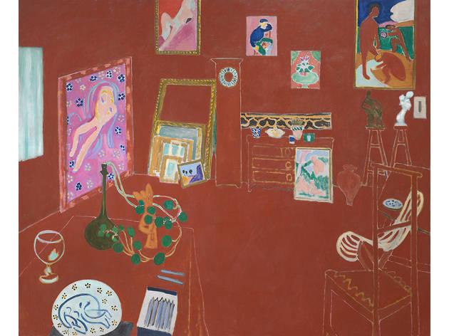 Henri Matisse, The Red Studio, 1911