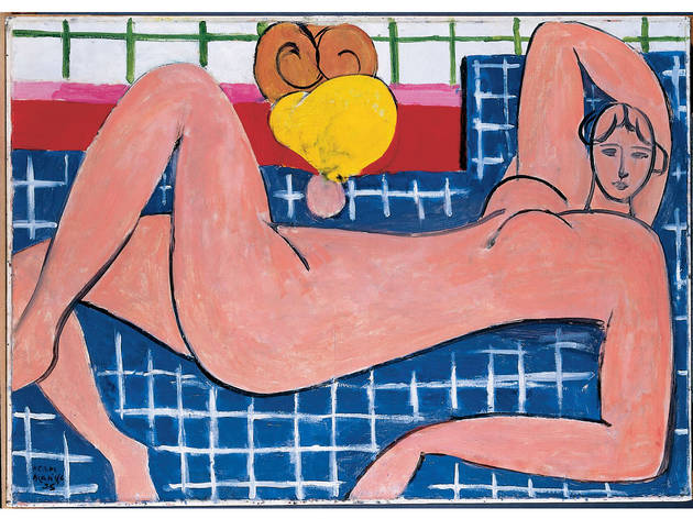 Henri Matisse, Large Reclining Nude (The Pink Nude), 1935