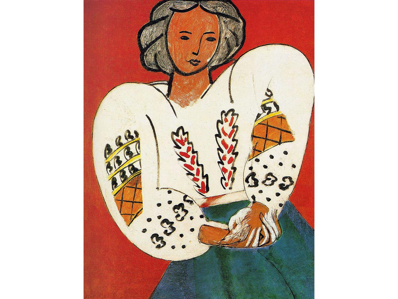 Henri Matisse, La Blouse Roumaine, 1940