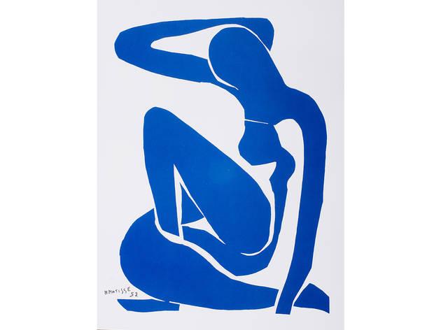 Henri Matisse, Blue Nude II (Nu bleu II), 1952