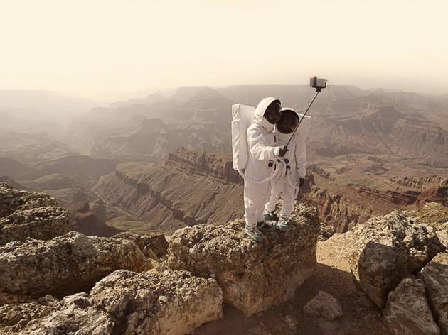 (Julien Mauve: 'Greeting From Mars', 2016. © Julien Mauve, France, Shortlist, Professional , Conceptual, 2016 Sony World Photography Awards)