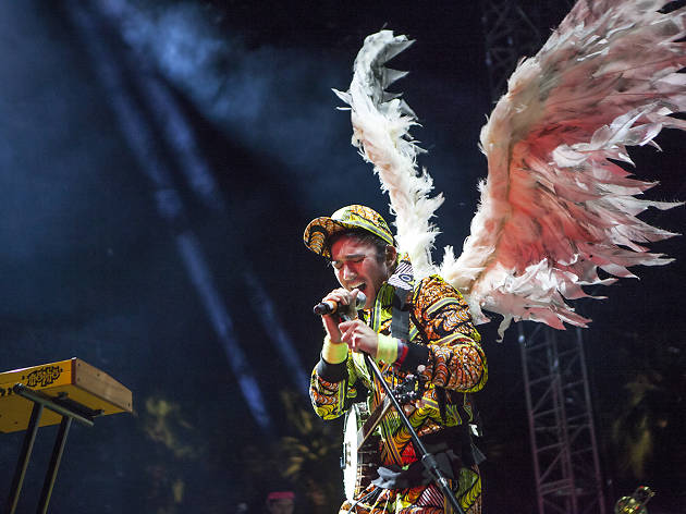 Sufjan Stevens at Coachella 2016; Day 1; Weekend 1