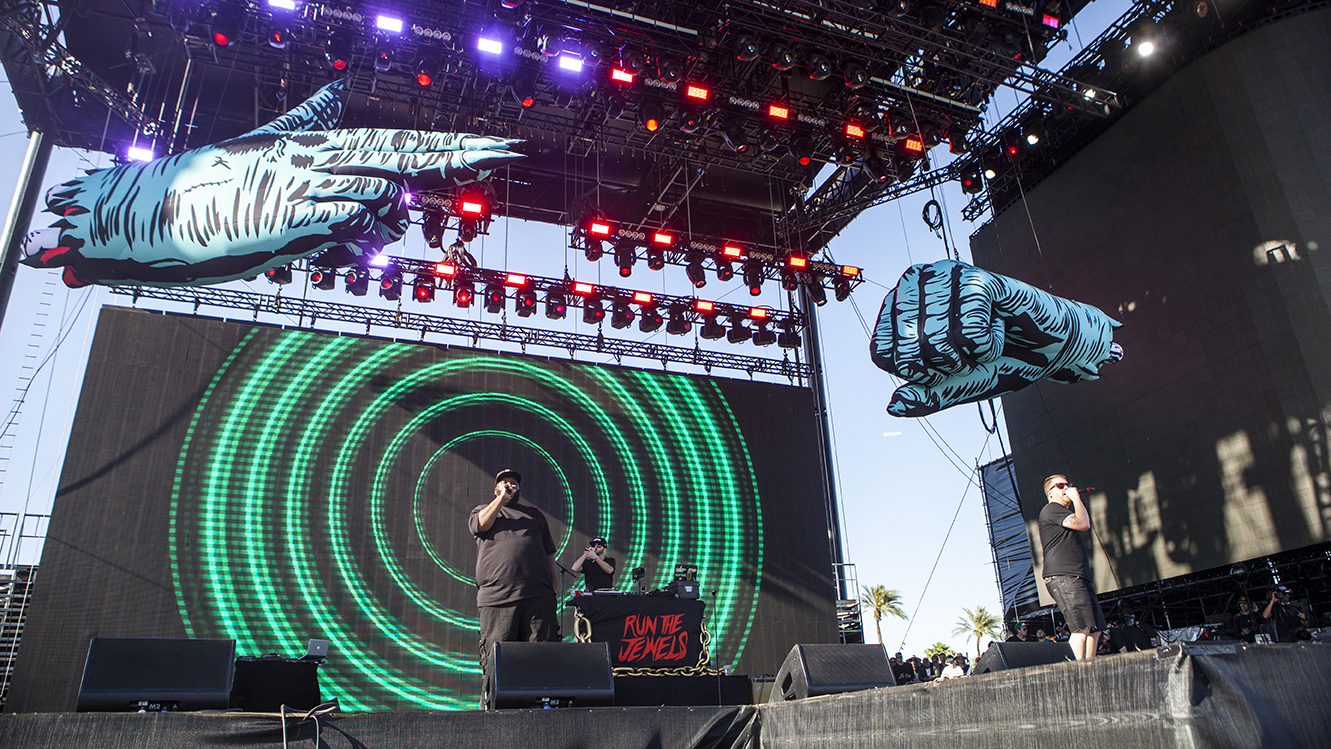 Bernie Sanders, Nas and DJ Shadow make cameos during Run the Jewels' Coachella 2016 set