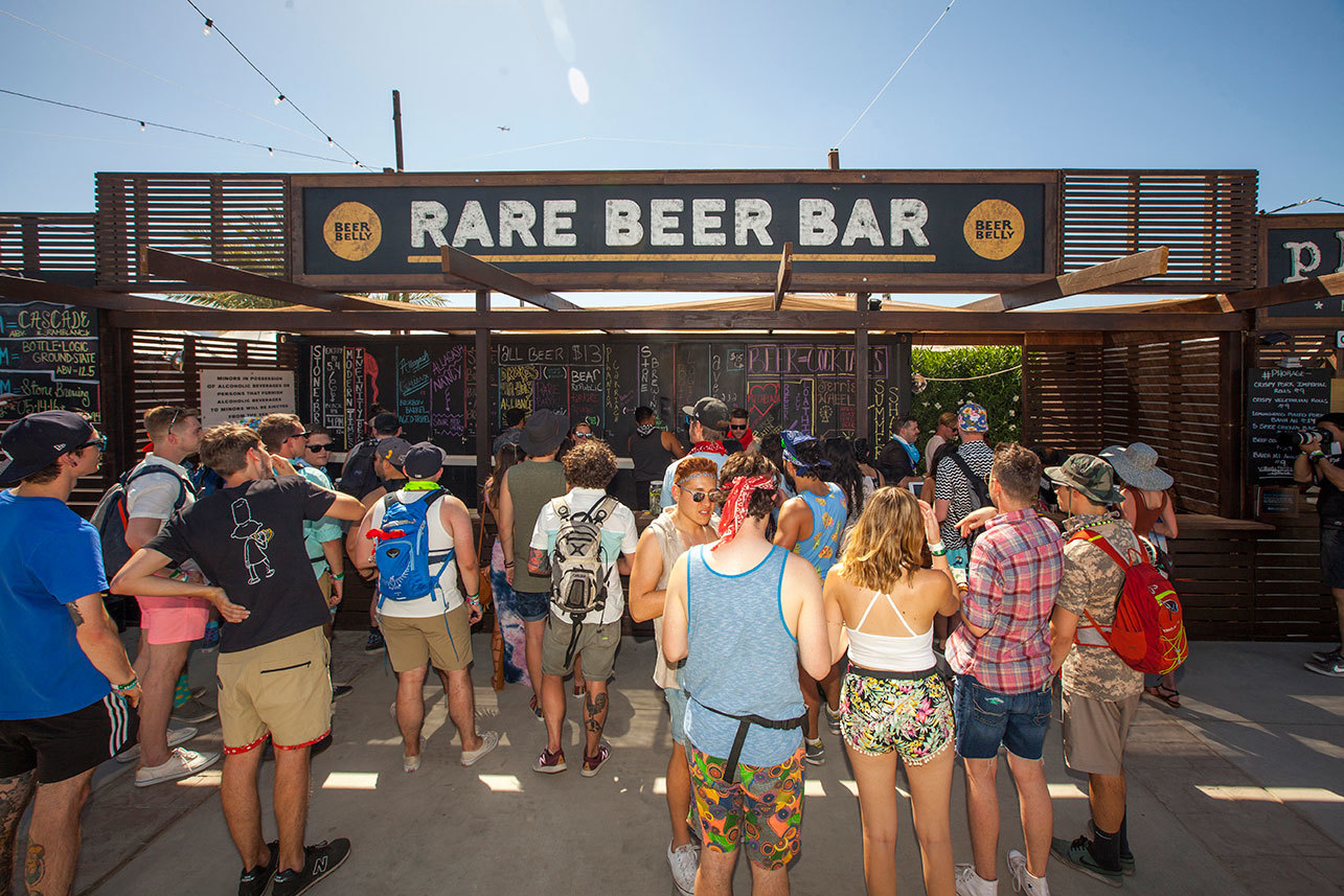 Beer Belly is offering some of the rarest beers in California at Coachella