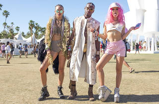 Street style at Coachella 2016; weekend 1; day 3