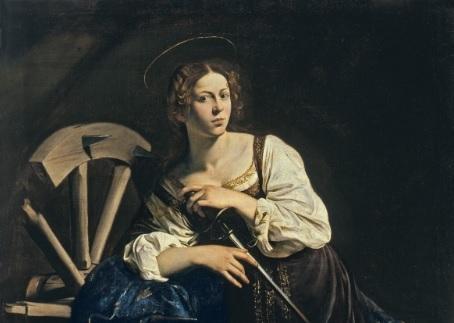 Caravaggio, Saint Catherine of Alexandria