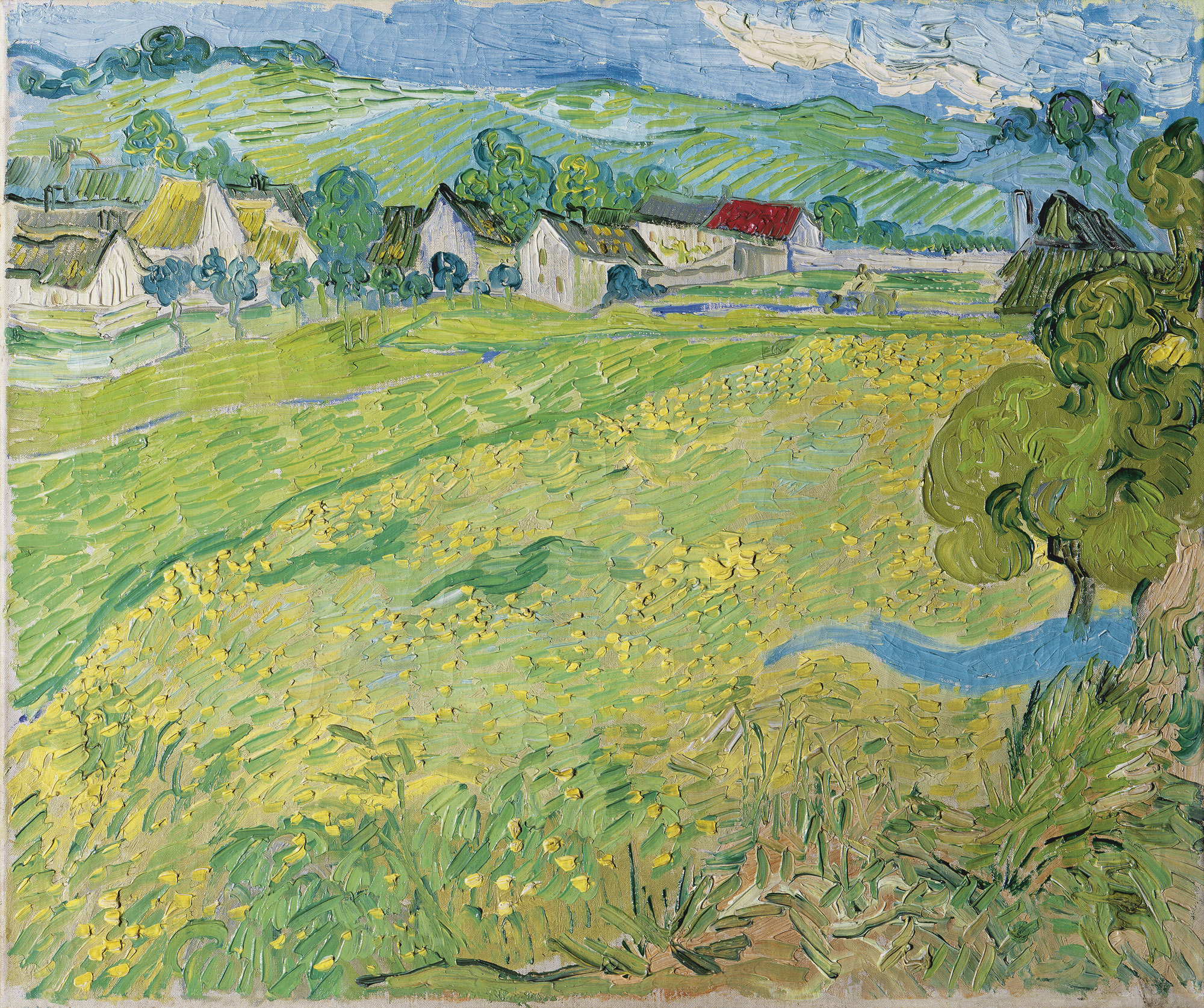 "Van Gogh, ""Les Vessenots"" in Auvers"