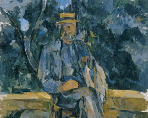 Cézanne, Portrait of a Peasant