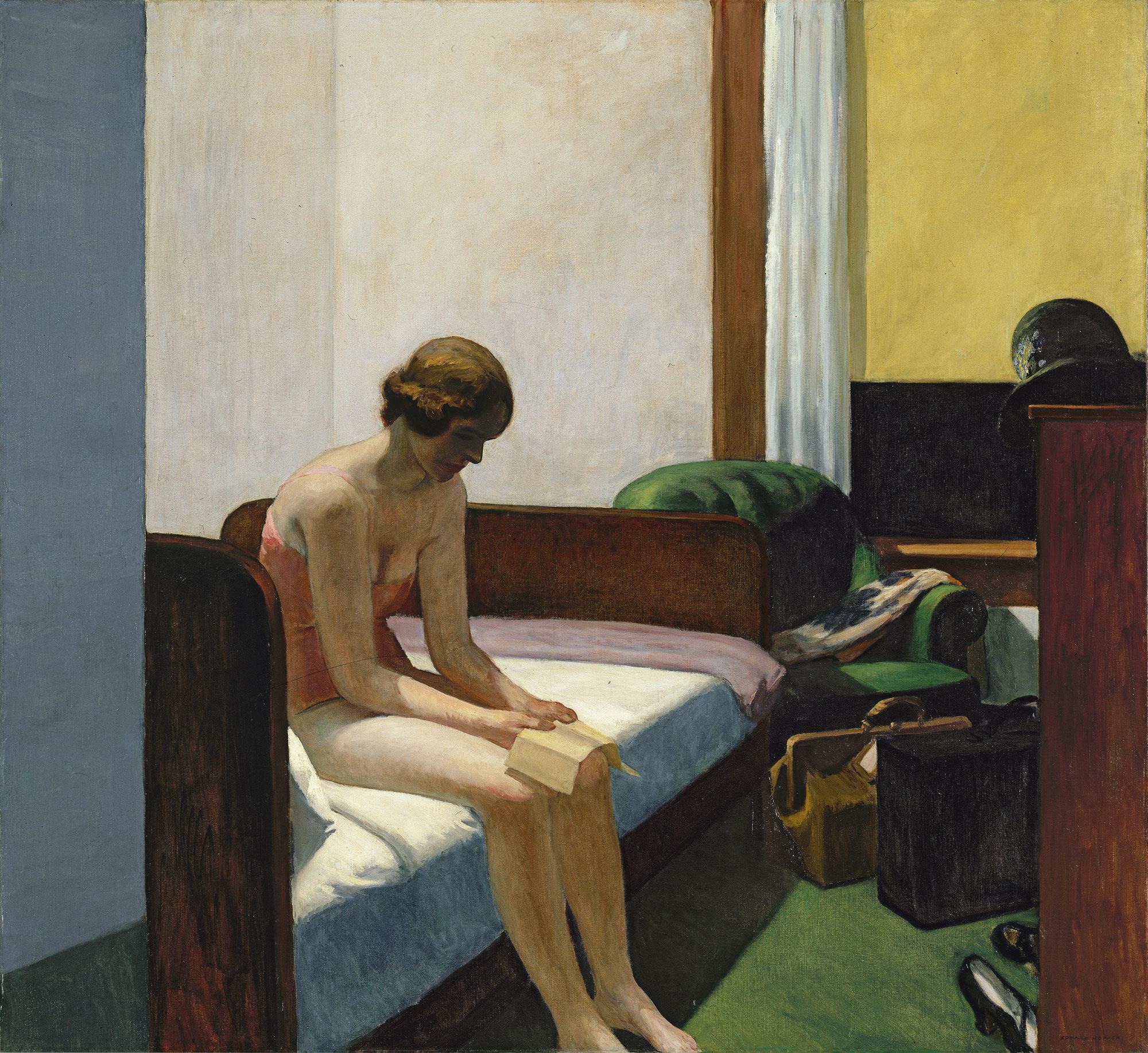 Edward Hopper, Hotel Room
