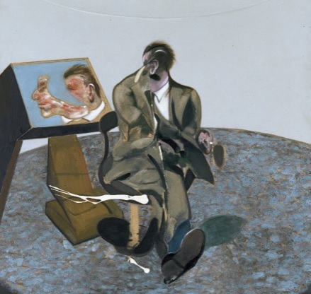 Francis Bacon, Portrait of George Dyer in a Mirror