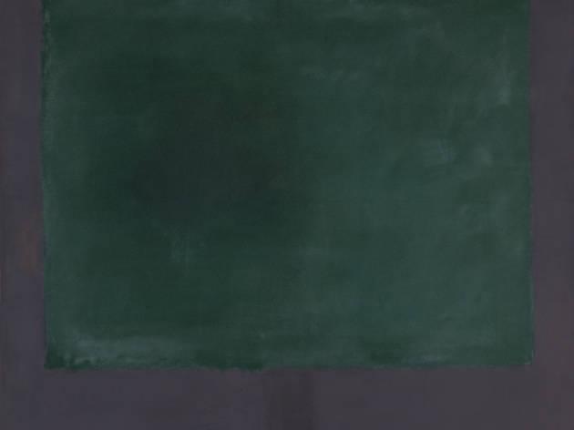 Rothko, Untitled (Green on Maroon)