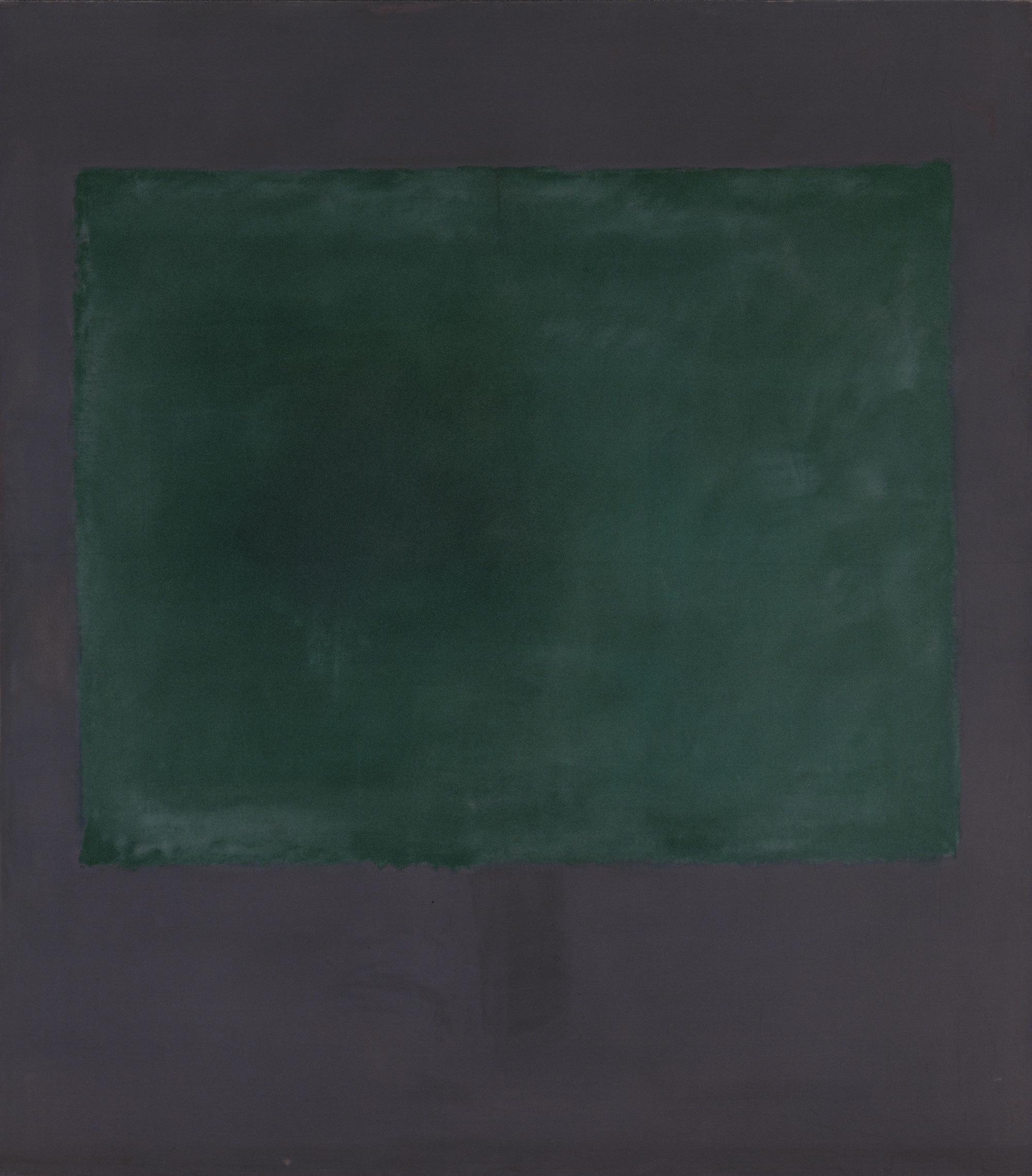 Mark Rothko, Untitled (Green on Maroon)