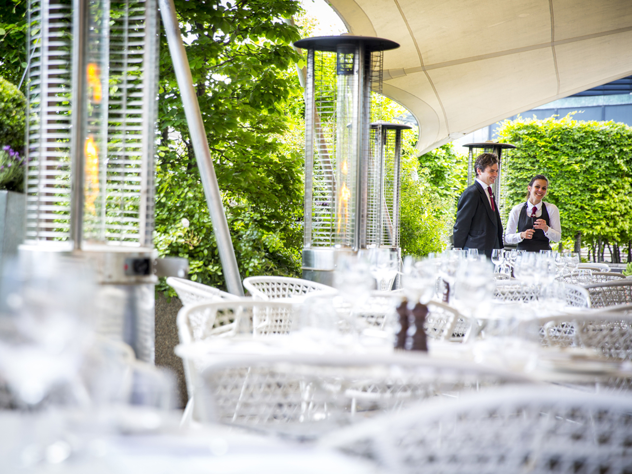 Rooftop restaurants in London, coq d'argent