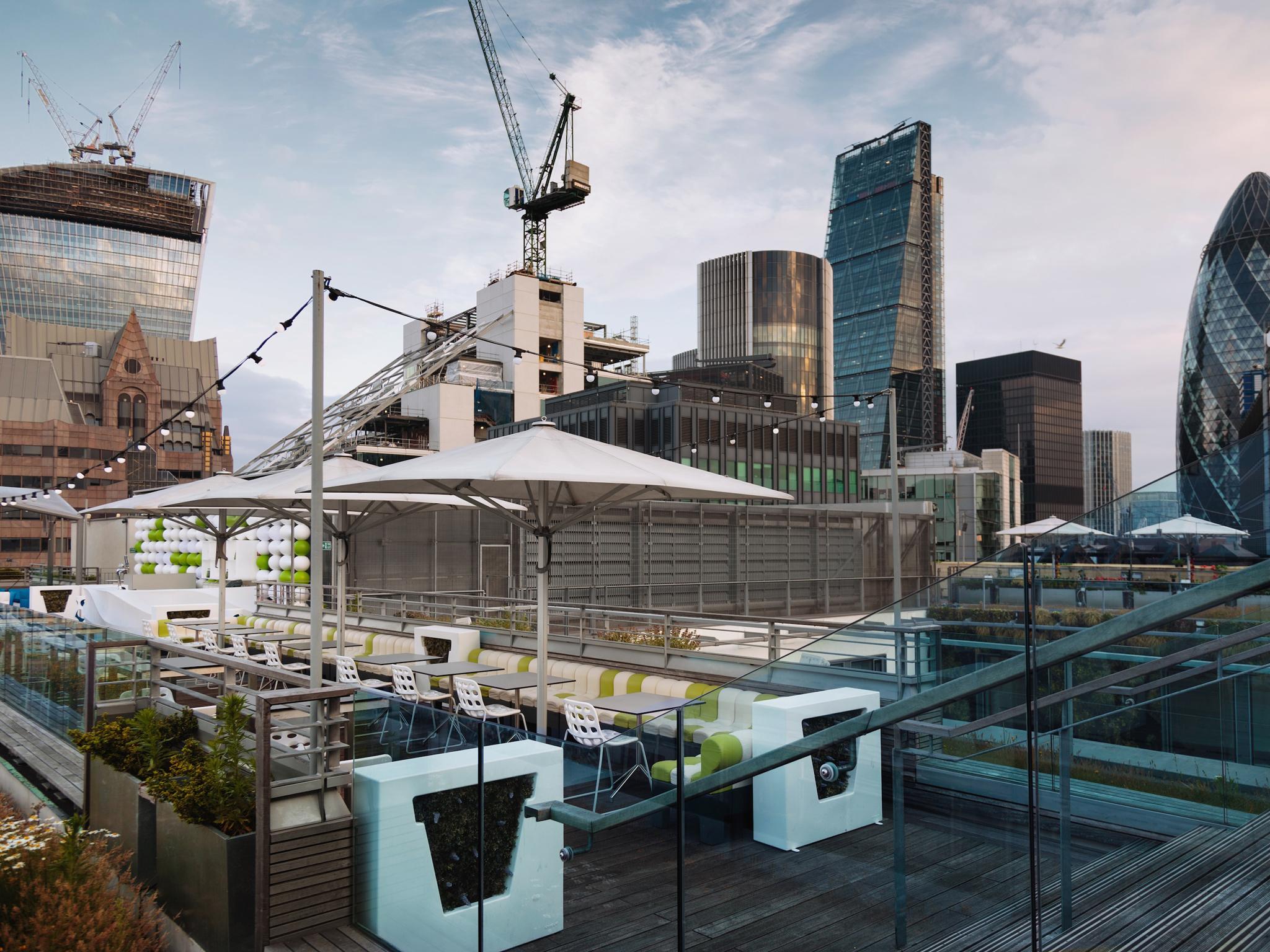 London's best rooftop restaurants