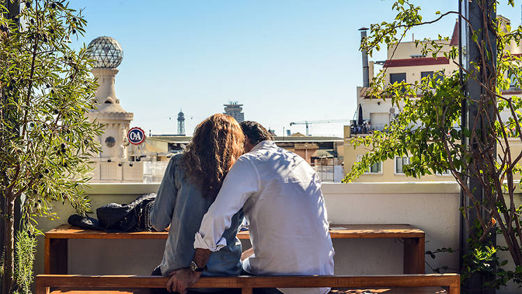 Sant Jordi, Barcelona romàntica