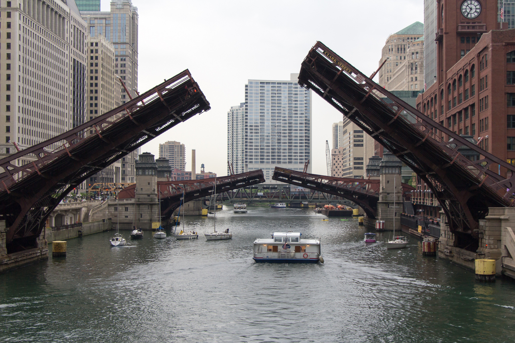Spring Is Here And The City Is Raising The Bridges Again