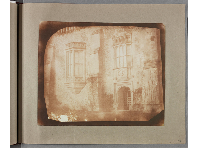 (William Henry Fox Talbot: 'Lacock Abbey'. © National Media Museum)