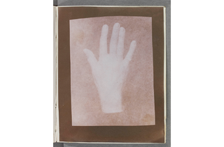 (William Henry Fox Talbot: 'The Study of a Hand'. © National Media Museum)