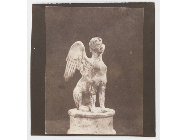 (William Henry Fox Talbot: 'Antique Statuette of a Sphynx'. © National Media Museum)