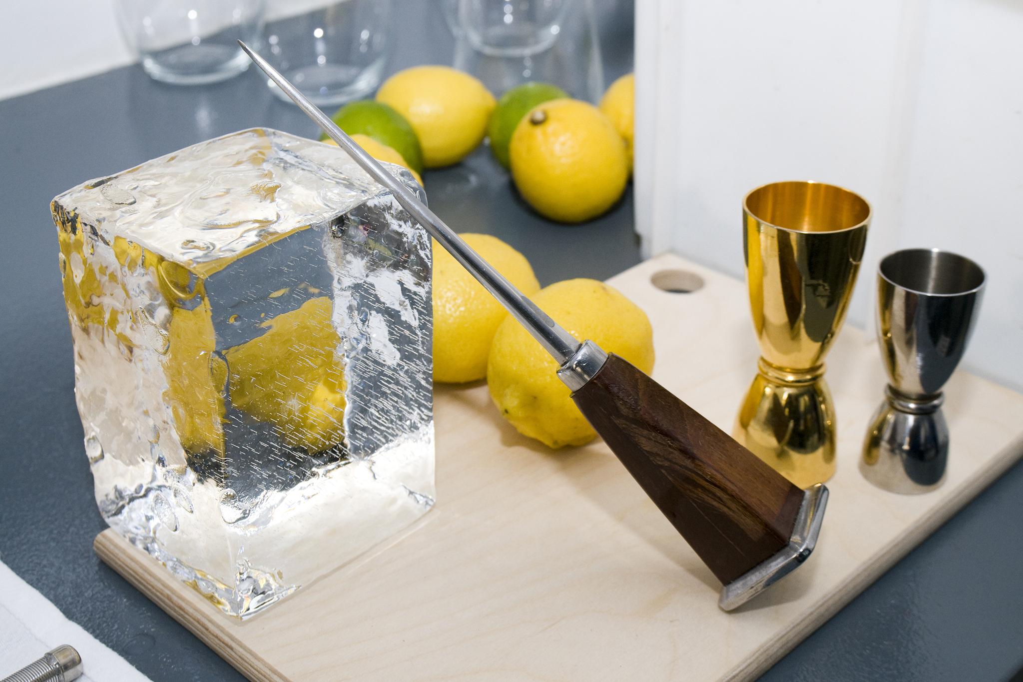 Good ice (no, really!)—and ice parephernalia
