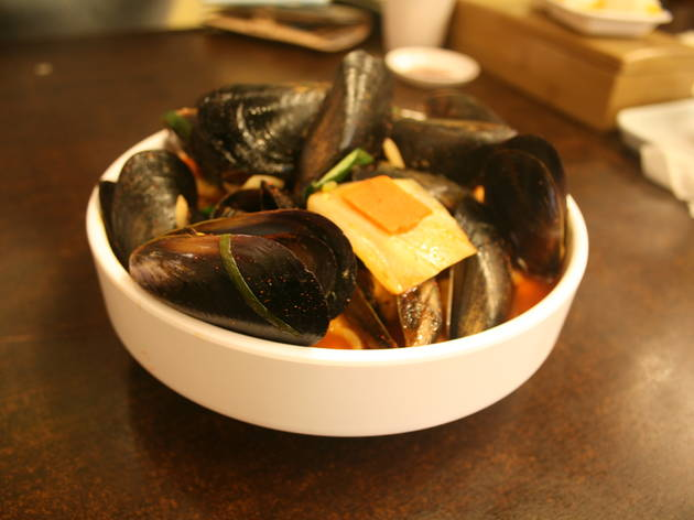 Mussels jjamppong at Manrisong