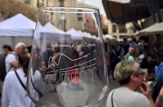 VII Wine and gastronomy fair at Santa Caterina market