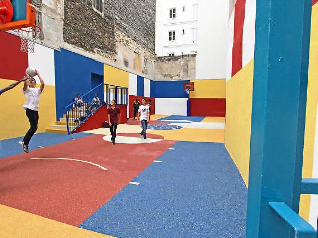 Les 5 plus beaux terrains de basket de Paris
