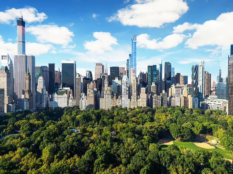 Touristy: Central Park