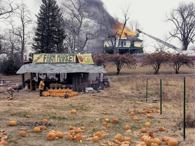 (Joel Sternfeld: 'McLean, Virginia, December1978'. © Joel Sternfeld; Courtesy of the artist, Luhring Augustine, New York and Zabludowicz Collection)