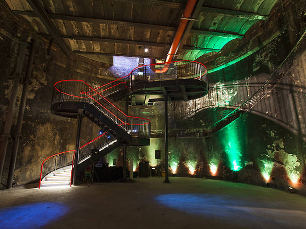 Get on down! The Thames tunnel has reopened to the public with a swanky new staircase