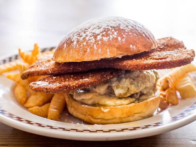 Sugar Hill Burger from Queens Comfort