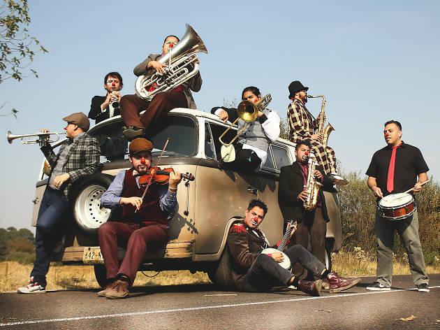 Triciclo Circus Band en el festival ¡Todos a Jugar!