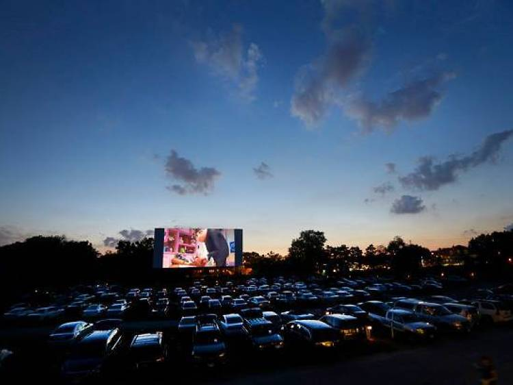 Go to a drive-in theater