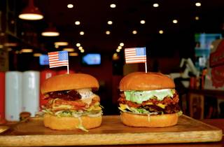 Burgers from Big Daddy's Burger Bar