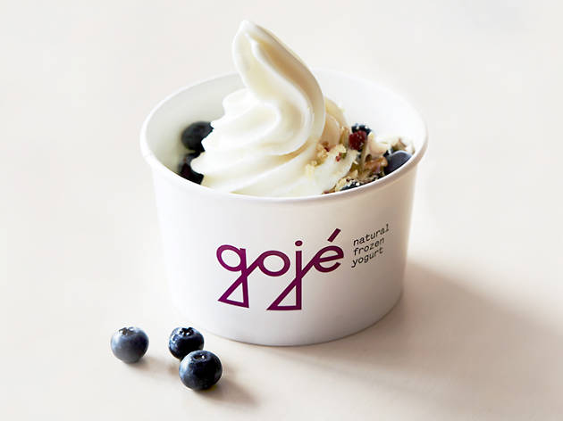 Vegan frozen yoghurt from Gojé in Yarraville