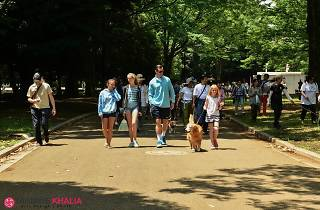 sanpo in the park