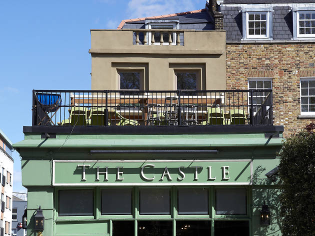 rooftop restaurants in london, the castle