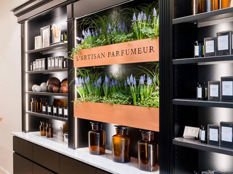 La plus éclectique: l'Artisan Parfumeur