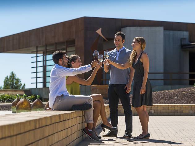 Maridatge de vins i pernils a Cellers Torres