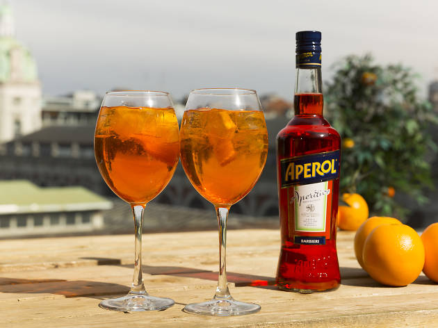 Aperol Spritz Terrazza | Things to do in London