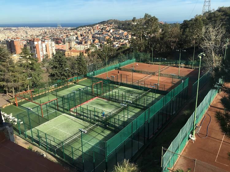 9 llocs on llogar una pista de tennis a bon preu