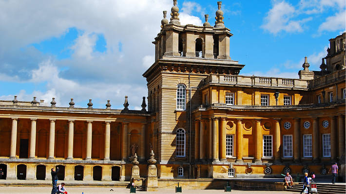 Blenheim Palace in all its glory