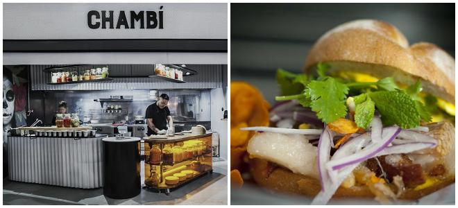foto de comida del Chambí