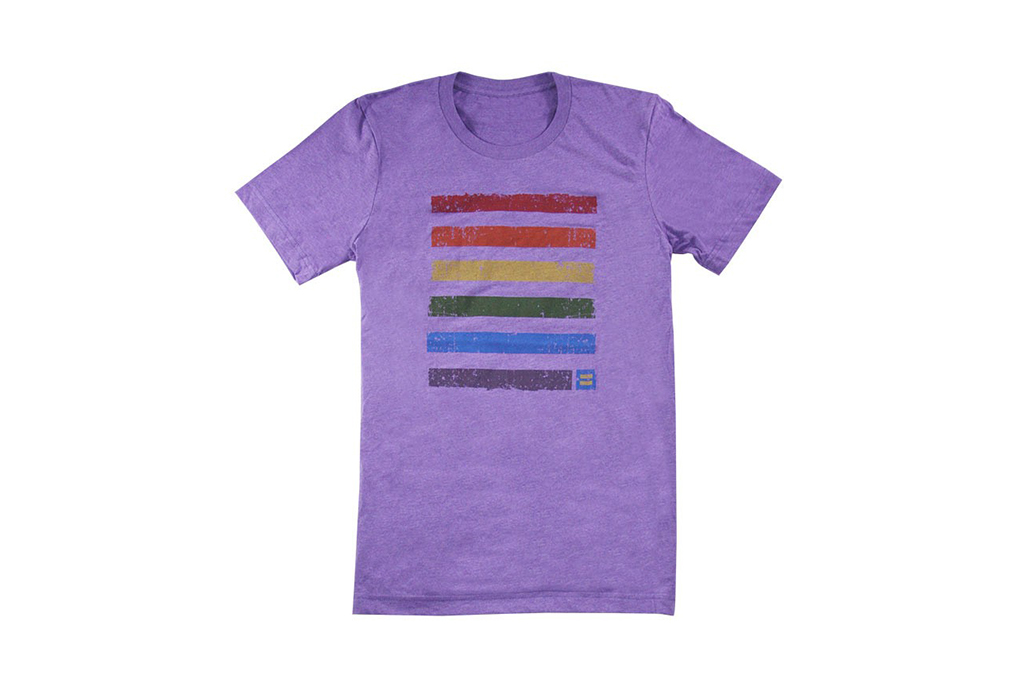 Rainbow T-shirt from Human Rights Campaign