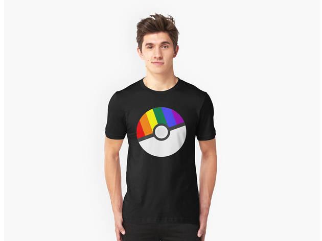 """Pokemon """"Prideball"""" T-shirt"""
