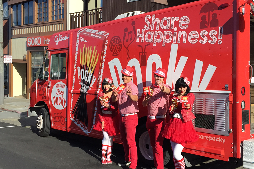 A truck filled with free Pocky is coming to Chicago